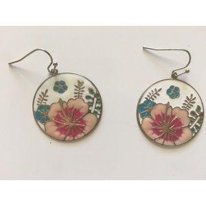 Jewelry - 3 for $25 - Flower Dangly Earrings